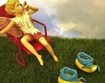 Fairy Shoes, Elf Shoes, Miniature Fairy Garden Shoes, Fairy Accessories