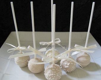 wedding cake pops ideas wedding favors premium wedding cake pops made to order with 23528