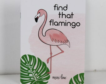Find That Flamingo Activity Book