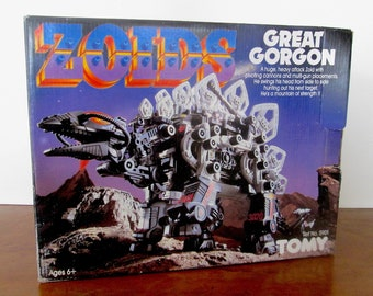 Rare Zoids Great Gorgon by Tomy