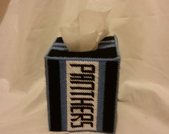 Carolina Panthers Tissue Box Cover