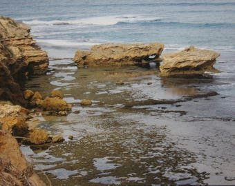 beach photo: low tide...