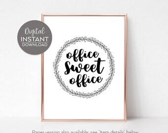 Desk decor / Coworker gifts / Office decor / Coworker gift her / Cubicle funny decor / Funny cubicle decor / DIGITAL DOWNLOAD