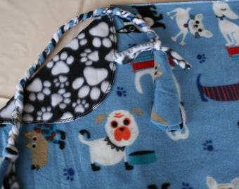Dogs and Cats Fleece Blanket. TWO available! Small for your Pet. Sales Benefit MCAR