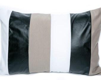 Colorful 12x18 Pillow Case. Unique Pillow Cover. Pillow for Him. Black Pillow Case. Green Pillow Cover. Decorative Pillow Case. Throw Pillow