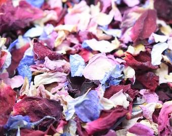 Biodegradable Natural Petal Wedding Confetti 1 Litre Classic Mid-summers Dream