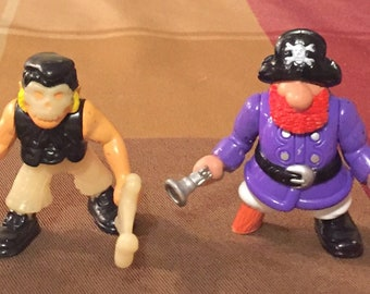 Vintage 1994-1997 Fisher Price Great Adventures Pirate/ Cowboy Figures