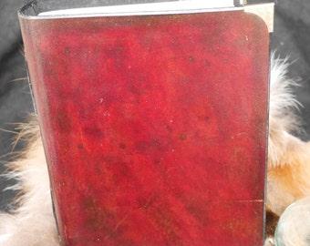 Grimoire mahogany leather