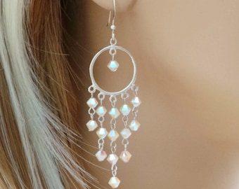 Sparkled Splendour - Swarovski Crystal Earrings