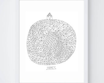 Home on Earth Fine Art Print