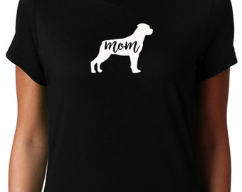 Rottweiler Mom Shirt, Rottweiler Shirt for Women, Rottweiler Mom, Rottweiler Tshirt, Rottweiler T shirt, Rottweiler Mama, Rottie Lover