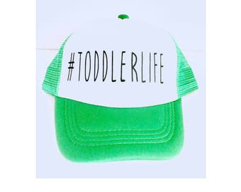 Kid trucker Hat- Mesh #toddlerlife trucker hat