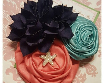 Girl hair clips, girl barrettes, flower hair clips, flower barrettes, Hair clips for girls