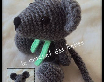 """Toy """"made to order"""" baby mouse"""