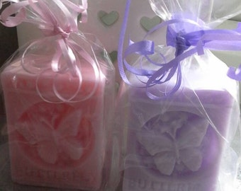 2 Small guest soaps, weight 63g ,