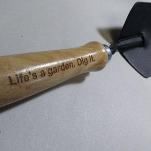Dig It Funny Hand Shovel Garden Gift Green Thumb