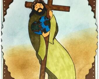 Jesus - Easter Card