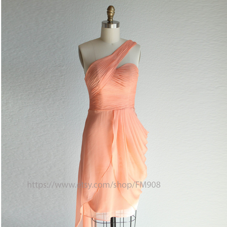 Dusty coral bridesmaid dresses romantic dress peach dress zoom ombrellifo Gallery