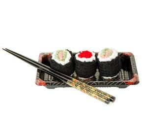 Sushi Cat Toy Unique Catnip Toy  Pet Toy Sushi Unique Cat Toy