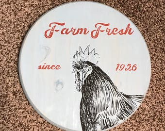 Rooster, farmhouse, vintage, rooster decor