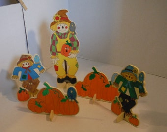 Scarecrows and Pumpkins, Table Decoration