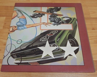 The Cars Heartbeat City Vinyl Record LP 1984