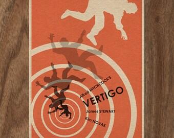 Alfred Hitchcock's VERTIGO Limited Edition Print