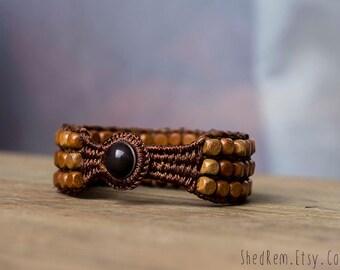 Wooden beads Friendship Bracelet