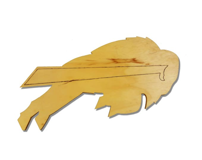Buffalo Bills Wooden Sign