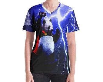 Thor Panda Women's V-neck