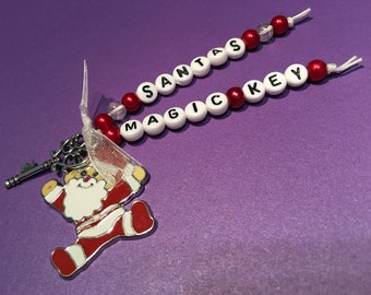 Santa's Magic Key Christmas Decoration, Christmas Eve Box Gift, Santa's Key