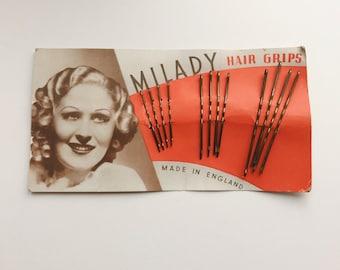 1930s Milady bobby pins