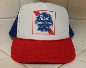 PBR R.W.B classic trucker hat