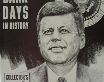 "Four Dark Days In History ""Rare HTF"" Collectors Edition Kennedy Assassination"