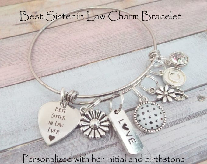 Sister in Law Gift, Birthday Gift for Sister in Law, Wedding Gift for Sister in Law, New Sister in Law for Bridal Party, Gift for Her