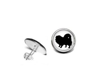 Pomeranian Earrings, Pomeranian Jewelry, Pomeranian Gifts, Pomeranian Lovers, Dog Lovers, Dog Gifts, Dog Earrings, Dog Jewelry, Rescue Dogs