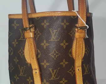 Louis Vuitton Vintage bag, Bucket pattern