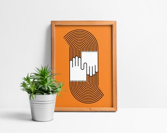 Friendly Groovin' Giclée Print