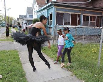 "Art Print  ""My little ballerinas"""