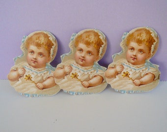 Anna Griffin Die-cut  Embellishment Baby Victorian Scrapbook Paper Supplies