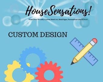 Sign deposit for Custom Design Fee