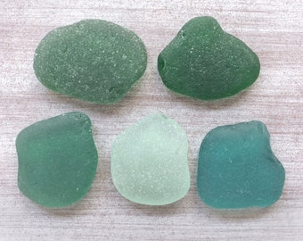 Large Genuine Sea Glass Bulk Green Teal Emerald Sea Glass Beach Glass Surf Tumbled Sea Glass Sea Glass Art Craft L001(5)