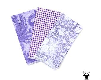 Lavender Pocket Square, Purple Boys Pocket Square, Floral Pocket Square, Mens Pocket Square, Groomsmen Pocket Square, Hankie, Handkerchief