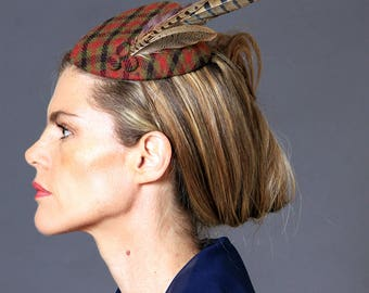 Peggy Teardrop Fascinator Hat