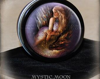 Mother / Dragons /  Stitch Marker Tin / Notion Tin / Storage Tin / Pill Box / Gift Tin / Tin Box /GOT