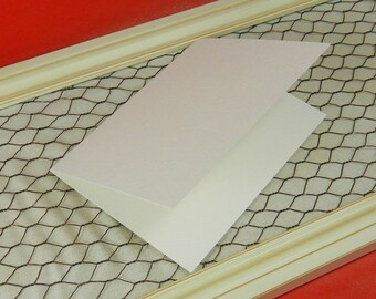 Pack of 12 | Natural White | Blank Cards | 5x6.875 Inch Cards | Blank Greeting Cards | Cards for Use with Watercolor, Gouache, Acrylic
