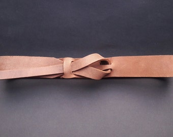 Dark Safari, Taupe Leather Belt, Leather Belt, Muse Belt 1.5 and 1.25 inch
