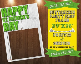 Customized St. Patrick's Day Prop Frame