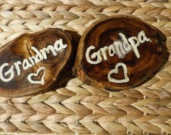 Grandma and Grandpa set