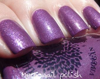 Violet Chrome Shimmer Nail Polish -- 90 in November by Black Dahlia Lacquer
